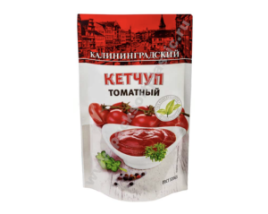 Кетчуп томатный Калининградский