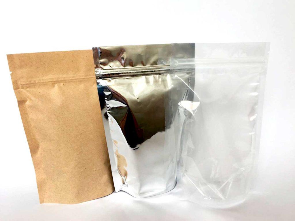 Виды материалов для упаковки Дой-пак